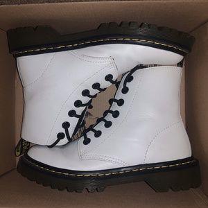 White Doc Martens Size 6
